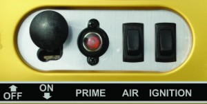 GOLDEN EAGLE CONTROL PANEL