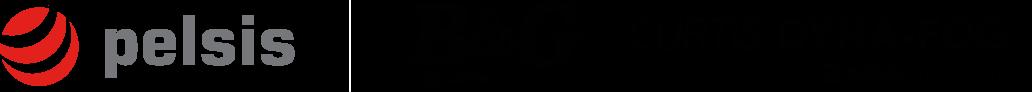 Pelsis, B&G and Curtis Dyna-Fog logos